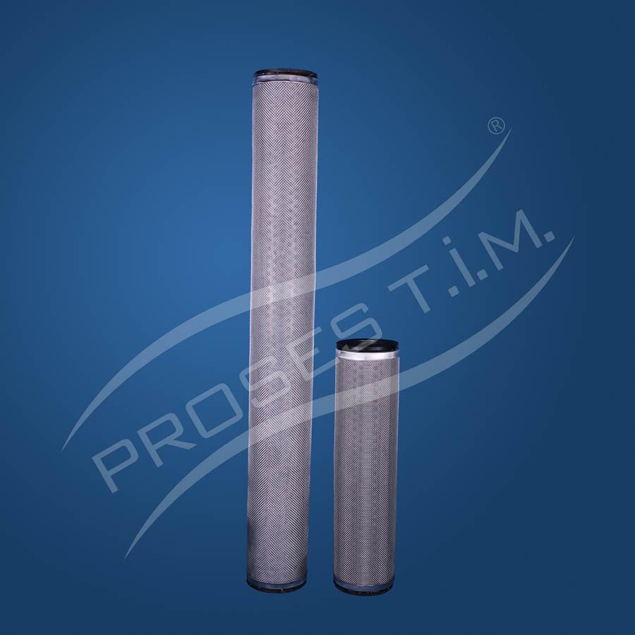 Paslanmaz Çelik Yıkanabilir Kartuş Filtre